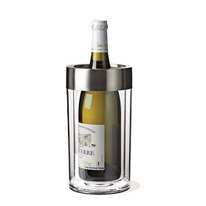 Wine Enthusiast Double Walled Iceless Wine Bottle Chiller (Champagne Cooler compare prices)