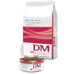 Detail image Purina Veterinary Diets DM Dietetic Management Dry Cat Food 10 lb bag