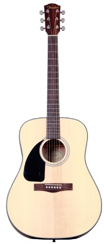Fender CD-100 Dreadnought Acoustic Guitar, Left Handed, Natural
