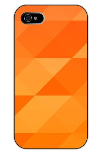 Sprawl New Fashion Design Hard Skin Case Cover Shell For Mobile Phone Apple Iphone 5 5S--Simple Design Orange Background