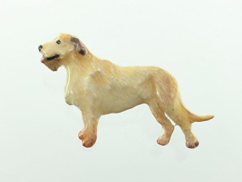 Painted ~ Full Body Irish Wolf Hound ~ Refrigerator Magnet ~ DP404AFM