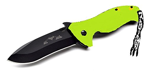 Emerson CQC11 UTCOM Black Hawk Exclusive with Toxic Green handles (Emerson Combat Folder compare prices)