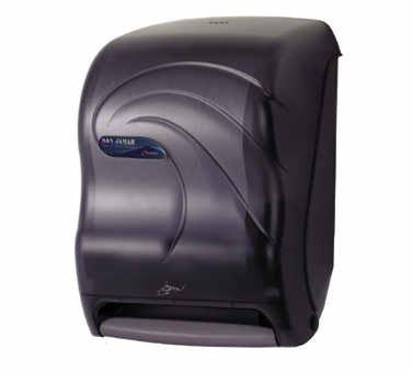 "Oceans T1490TBK 11-3/4"" Width x 15-1/2"" Height x 9-1/2"" Depth, Black Pearl Smart System with iQ Sensor Roll Towel Dispenser"