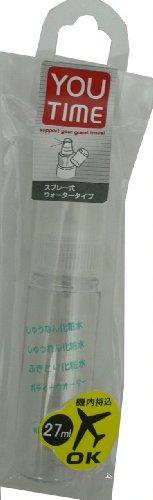 貝印 スプレーボトルスリム 27ml KC0814