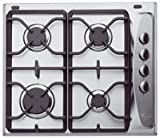 Whirlpool AKM274IX Gas Hob in Stainless Steel