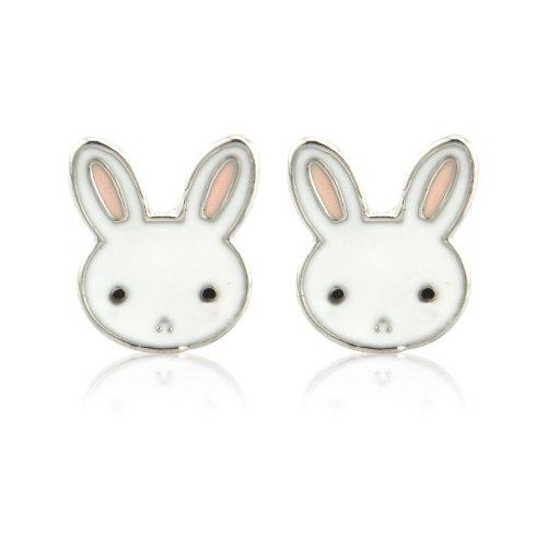 Cute rabbit earrings - ideal jewellery present