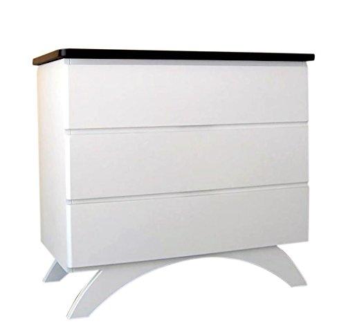 Eden Baby Furniture Madison 3-Drawer Dresser White