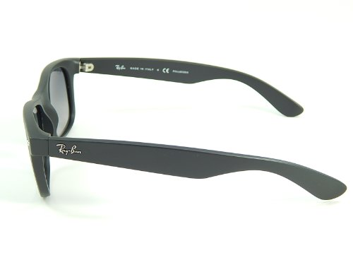 Amazon.com: Ray Ban RB2132 Wayfarer 601S78 Matte Black/Polar Blue Gradient 55mm Sunglasses: Clothing