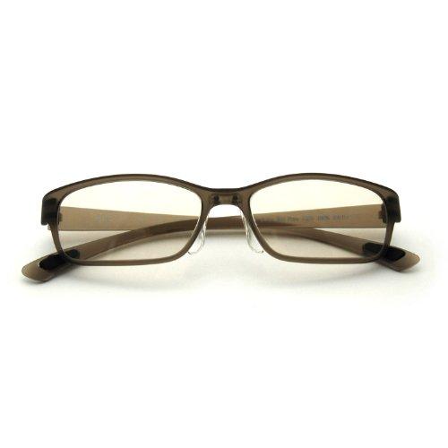 国産レンズ使用【@PC-Light】パソコン用眼鏡(PCメガネ)【全6色】ブルーライト(青色光)カット【GR】
