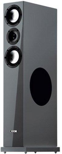 Canton Karat 770 DC 3,5-Wege Bass-Reflex Stand-Lautsprecher (140/200 Watt, 87 dB) Paar schwarz highgloss