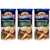 Progresso Italian Style Bread Crumbs 3 Pack