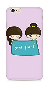 Amez designer printed 3d premium high quality back case cover for Apple iPhone 6s Plus (GIrls Good Friends)