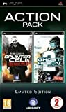 PSP Tom Clancy's Ghost Recon Advanced Warfighter 2 / Splinter Cell Action Pack