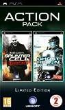 echange, troc Pack 2 jeux : Splinter cell essentials + Ghost recon advanced warfighter 2