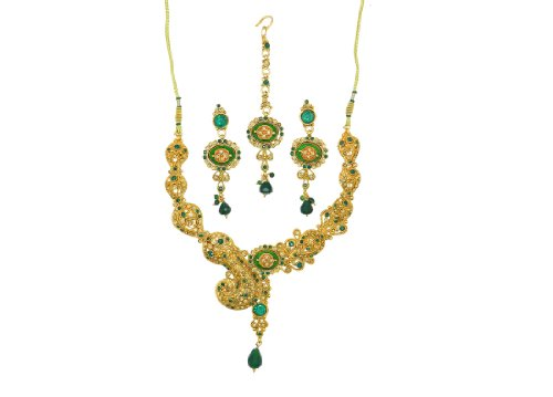 Expressions Multi-Strand Golden Copper Necklace for Women (multicolor)