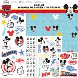 Disney Mickey Mouse 17-Piece Scrapbook Page Kit by Trends International