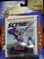 Signed Jarrett, Dale Racing Mini Car autographed by Powers Collectibles