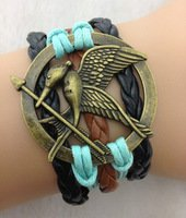 Designer Inspired Multi-strand Cord Bracelet, Faux Leather, Men, Womens, Boys or Girls Bracelet. 3pcs Bird, Arrow and Hometown Charm Bracelet.