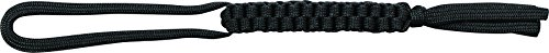 Schrade SCH550BK Black 550 Paracord Braided Lanyard