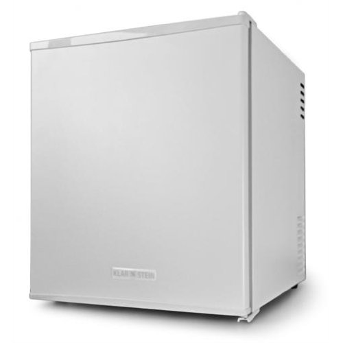 Klarstein MKS-8 Tabletop Mini Fridge (48Litre, 2 Shelves  &  30dB Low Noise Emission) - Matt White