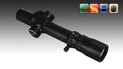 Nightforce NXS - 1-4x24mm - .250 MOA - FC-3G - NVD - PTL, Black, 30 mm C451 from Nightforce Riflescopes