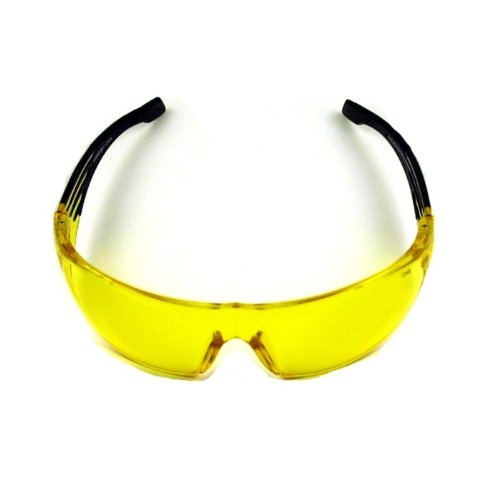 Night Vision Sport Safety Glasses Z87.1 Yellow Shade