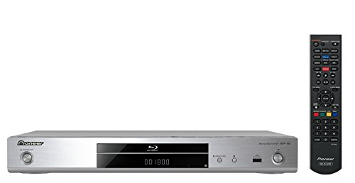 Pioneer BDP-180-S Lettore Blu Ray 3D, Scaler 4K, Argento