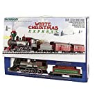 Bachmann White Christmas Express Ready To Run Electric Train Set - Large G Scale