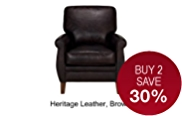 Knowsley Armchair - Leather