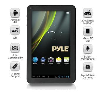 Versatile Multimedia Capability - The Pyle Astro PTBL10C