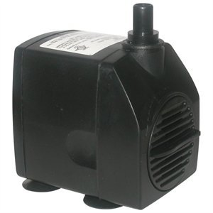 Fountain Tech FT1250 1280GPH 120V Submersible Stream/Pond/Fountain Pump FT-1250 -12 Ft Cord