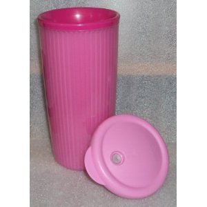 Tupperware Limited Edition Hot Pink Insulated Tumbler with Dripless Straw Seal