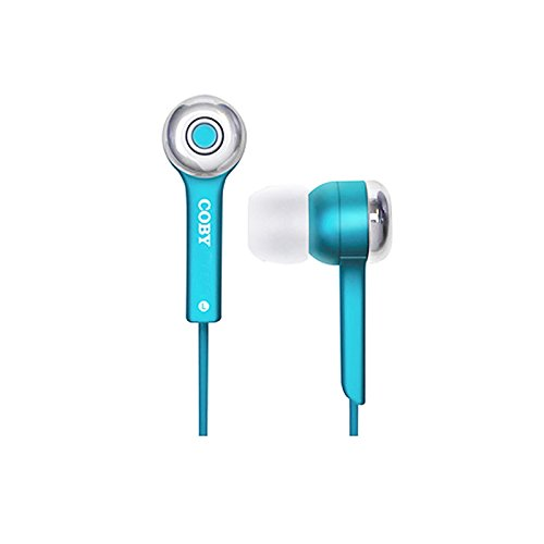 Genuine COBY JAMMERZ Universal Handfree 3.5mm Jack for HTC Desire 620G dual sim Mobile - Blue