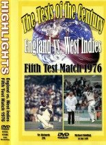 England vs West Indies 5th Test Match 1976