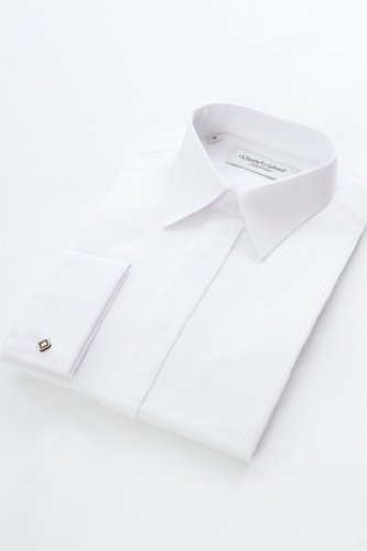 Extra Long Sleeved Dress Shirt 16 1/2inch Neck, White