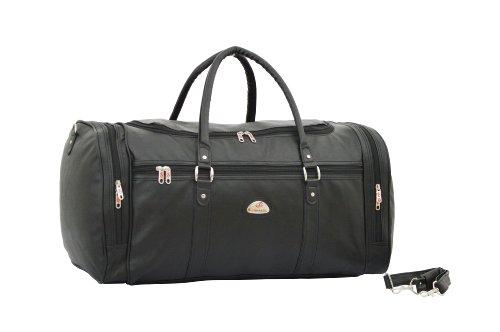 strong-mens-holdall-leatherette-weekend-travel-bag-black
