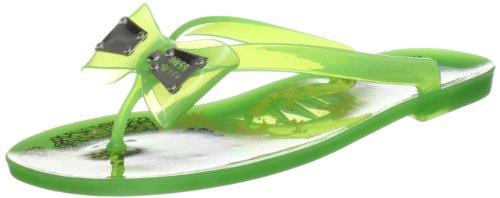Miss Sixty Women's Sunny Green Flip Flops Q02380-RU9227-E03330