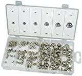 PIKE PRO.TOOL XDV1902PPT HEX NUT SET, DOMED, 150PC (Pack of 2)