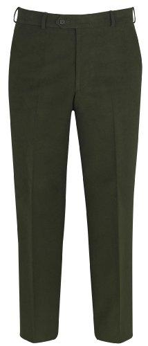 Brook Taverner Sherbourne Trousers in Dark Olive 42L