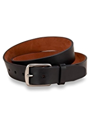 Luxury Leather Saddle Edge Belt