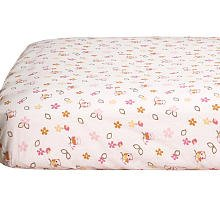 CoCaLo Baby In the Woods Fitted Sheet