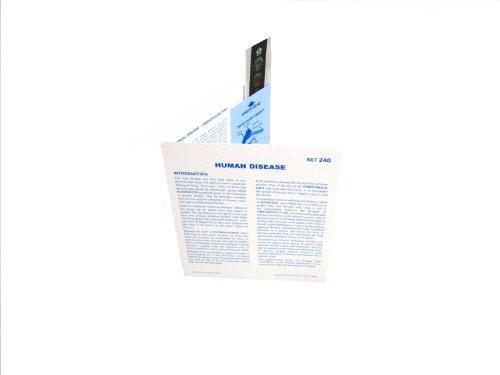 American Educational Microslide Human Diseases Lesson Plan Set - 1