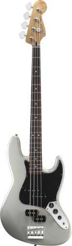 Fender Blacktop Jazz Bass®, White Chrome Pearl, Rosewood Fretboard