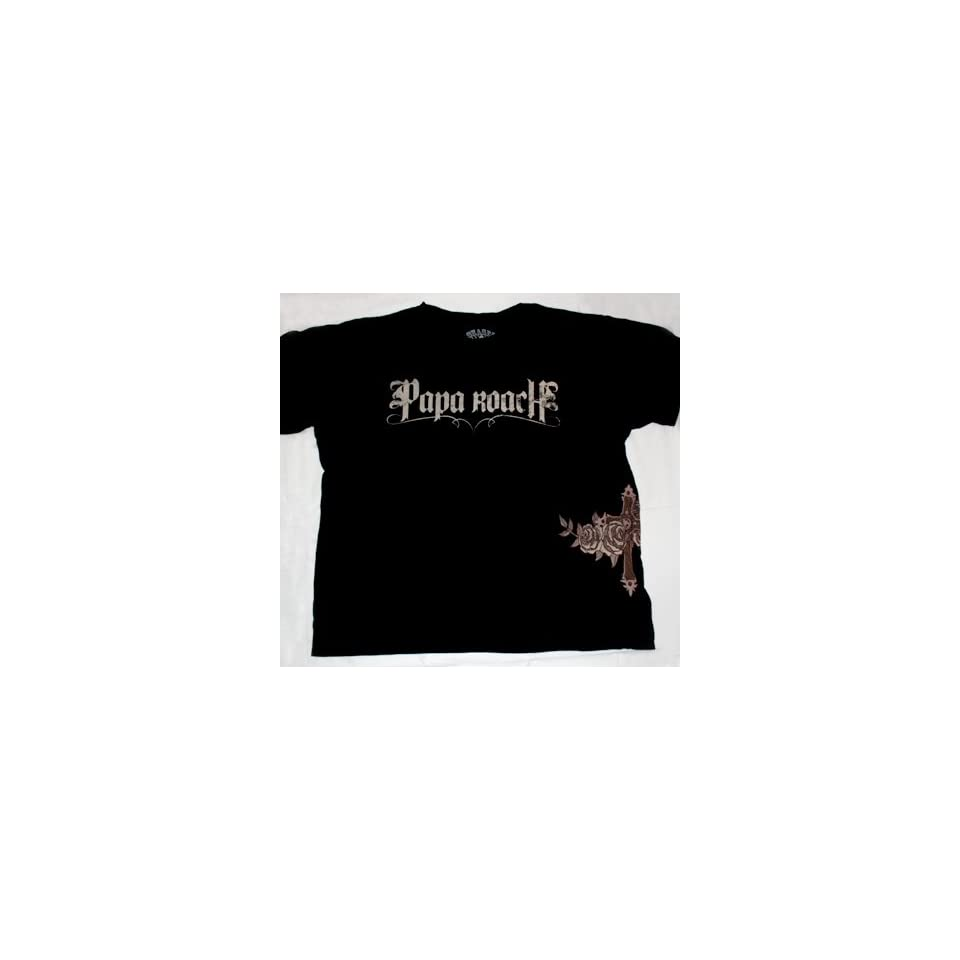 Papa Roach Rocker Rock Band Adult Tee Shirt T Shirt 2XL