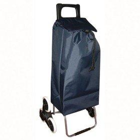 sacs de courses et cabas poussette de march golf 6 roues bleu marine. Black Bedroom Furniture Sets. Home Design Ideas