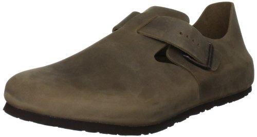 Birkenstock Unisex London 66851 Tabacco Brown Slides Sandal 47 47 EU