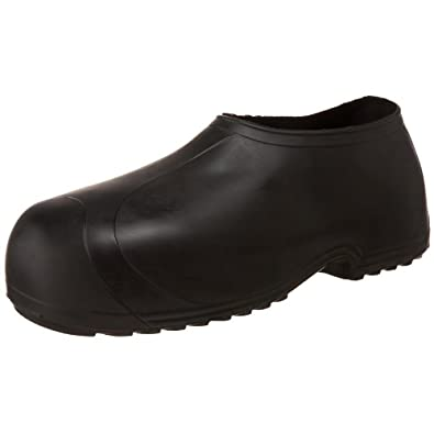 Tingley Men's High Top Work Rubber Stretch Overshoe,Black,S(6.5-8 US Mens )