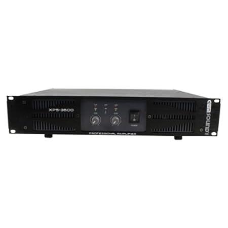 Gemsound GS-XPS-3600 Amplificateur PA 2x 450w