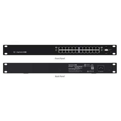 "Ubiquiti Networks, Inc - Ubiquiti Edgeswitch Es-24-500W Layer 3 Switch - 24 Ports - Manageable - 24 X Poe+ - 2 X Expansion Slots - 10/100/1000Base-T, 1000Base-X - Rack-Mountable ""Product Category: Routing/Switching Devices/Switches & Bridges"""