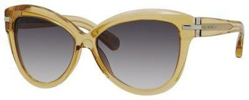 Marc Jacobs Marc Jacobs MJ468/S Sunglasses-0521 Clear Ochre (BD Gray Gradient Lens)-57mm